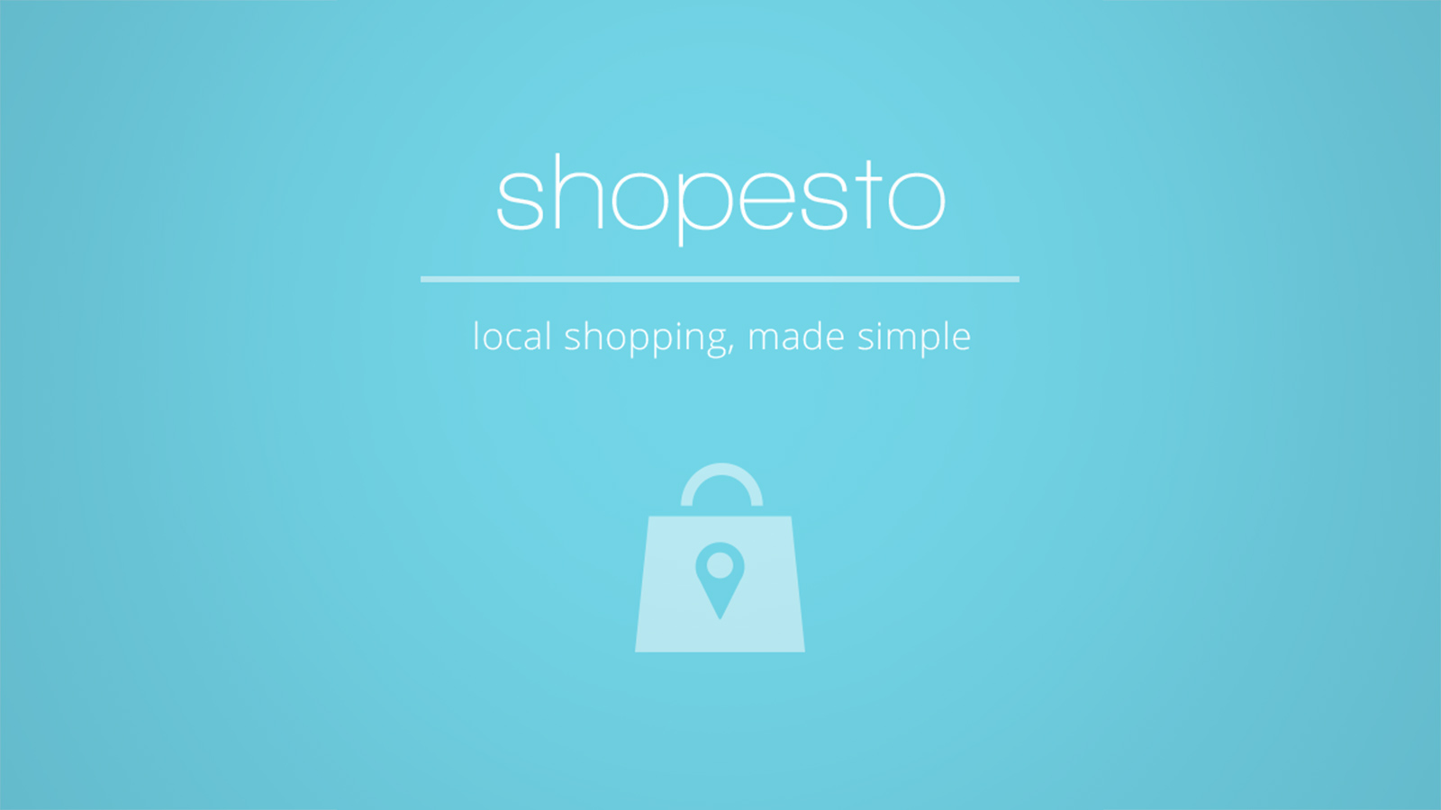 shopesto - local shopping, made simple